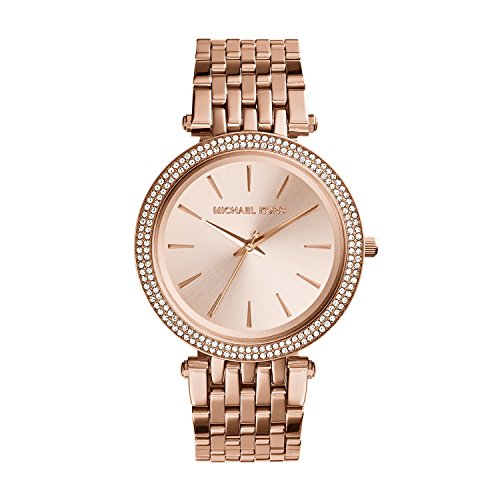Michael Kors Women's Darci Rose Gold Tone Watch