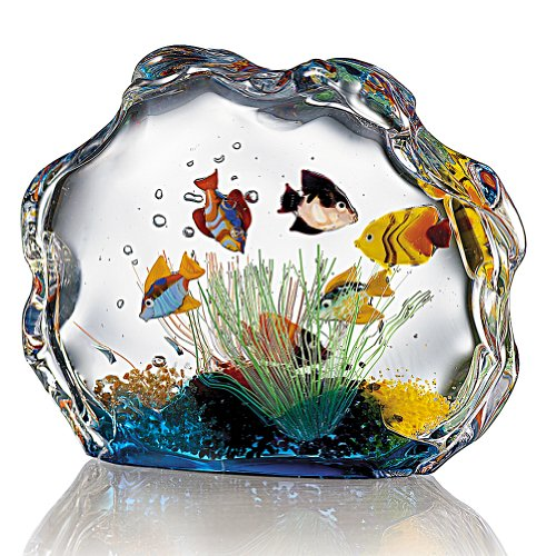 Smithsonian Murano Glass Aquarium