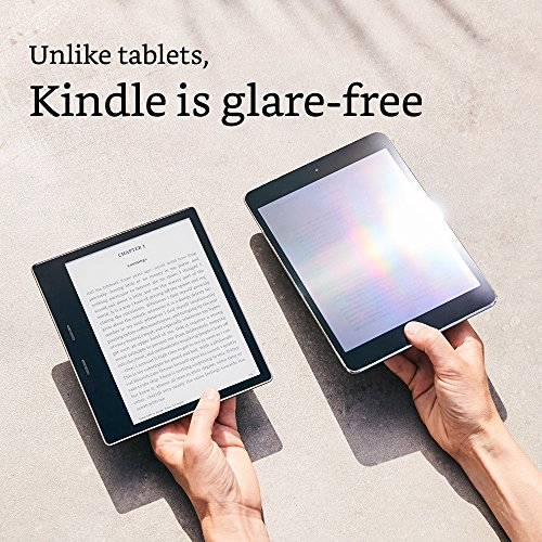The all-new Kindle Oasis E-Reader