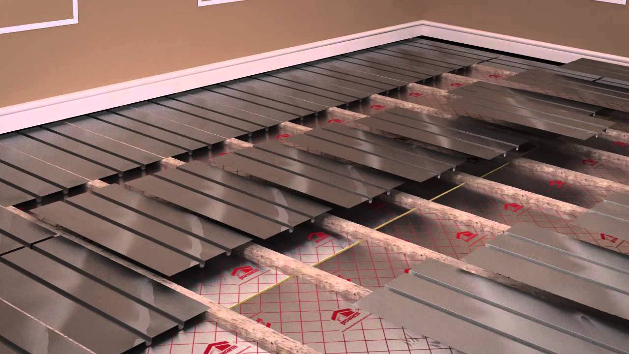 How To Install A Water Underfloor Heating System